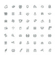 icons set every single icon vector image