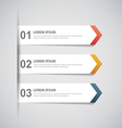 paper infographic13 vector image vector image