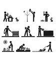Pictogram vector image vector image