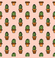 seamless pattern with simply hand drawn vector image vector image