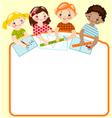 childhood mathematics vector image