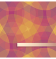 red and yellow pattern background vector image