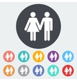 Couple sign vector image vector image