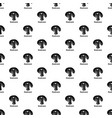 mushroom pattern seamless vector image vector image