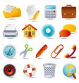 Office icon set vector | Price: 3 Credits (USD $3)