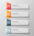 paper infographic15 vector image vector image