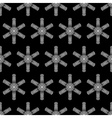Black and white winter background vector image vector image
