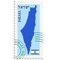 mail to-from Israel vector image vector image