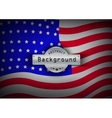 Pattern flag USA background vector image vector image