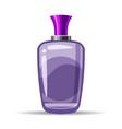 perfume bottls icon eau de vector image