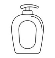 soap gel dispenser icon outline style vector image vector image