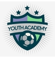soccer emblem design football badge template