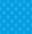 x-ray apparatus pattern seamless blue vector image