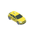 yellow cab car vector image