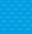bat wing pattern seamless blue vector image