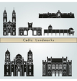 Cadiz landmarks and monuments