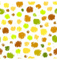 colorful pattern with grunge circles vector image vector image