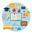 education concept trendy vector image