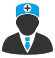 Head Physician Icon vector image vector image
