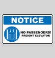 symbol freight elevators and lifts only vector image