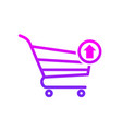 buy cart output shop store icon vector image