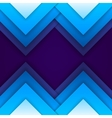 Abstract blue paper triangle shapes background vector image vector image