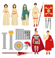 ancient rome male and female characters and old