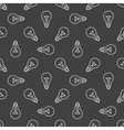 Bulbs seamless pattern vector image