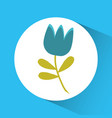 flower emblem image vector image vector image