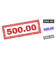 grunge 50000 textured rectangle stamps vector image vector image