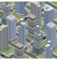 Isometric Architecture Business City Cityscape vector image