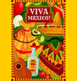 mexican holiday cinco de mayo fiesta celebration vector image vector image
