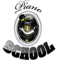 piano school 1 vector image