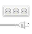 plug socket vector image