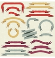 Retro ribbons and labels vector | Price: 1 Credit (USD $1)