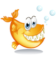 A big piranha vector image vector image