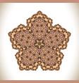 abstract decorative mandala vector image