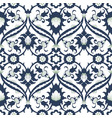 arabesque damask vintage decor ornate seamless vector image