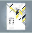 cover annual report 1024 vector image