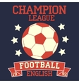 English football vector image vector image