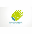 logo for symbolic sport business vector image