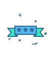 rate icon design vector image