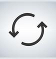rotation arrows icon simple flat symbol perfect