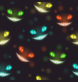 scary halloween night background with creepy vector image vector image