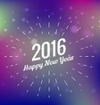 2016 new year design greeting vector image vector image