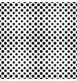 big halftone circles seamless pattern vector image
