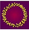 christmas or casino lights shiny light bulbs frame vector image vector image