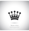 Crown icon or logo vector image vector image