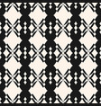 geometric seamless pattern in traditional style vector image