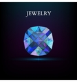 Jewelry Gemstone vector image vector image